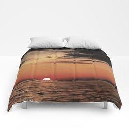 Autumn Evening Sundowner Comforters