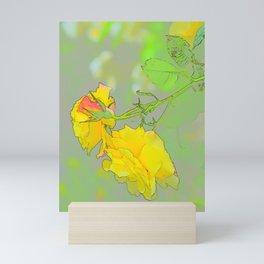 Roses for a Birthday Mini Art Print