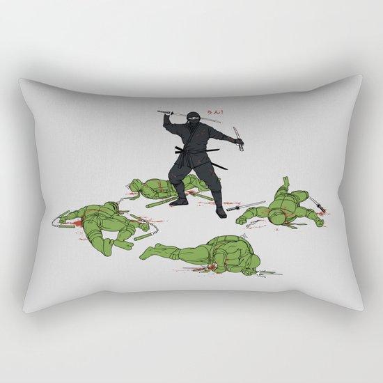 The Real Ninja Part 1 Rectangular Pillow