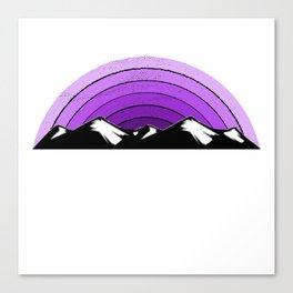 WCT Shirt Purple Canvas Print