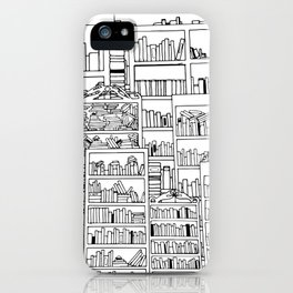 Compounding Worlds iPhone Case