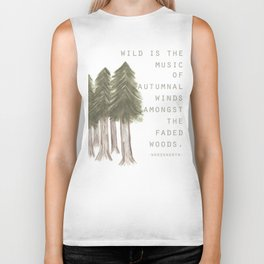 Wild is the Music Biker Tank
