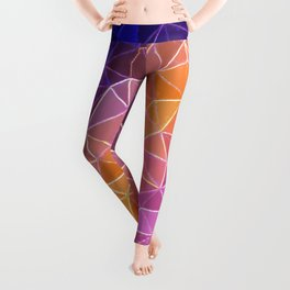 crystalized rainbow Leggings