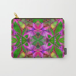 Floral Fractal Art G374 Carry-All Pouch