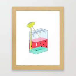 Watermelon Dreams Framed Art Print