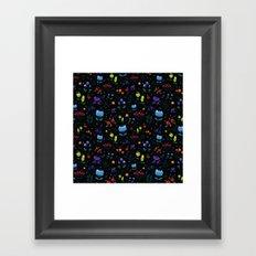 Magical berries Framed Art Print