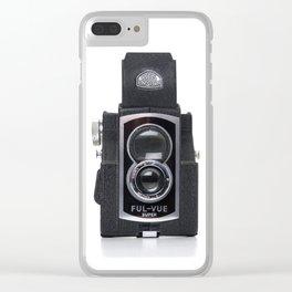 Vintage Ross Ensign Ful-Vue Super Camera Clear iPhone Case