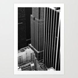 New York Streets Art Print