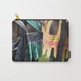 Jousting Horse - Braided Carry-All Pouch