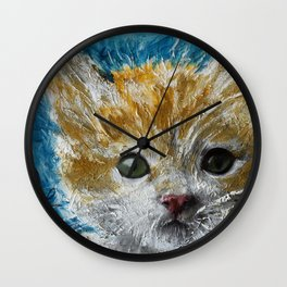 Lexi Cat Wall Clock