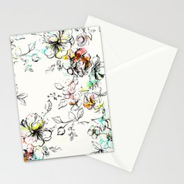 CAMP FLORAL Stationery Cards