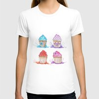 cupcakes T-shirts featuring Cupcakes  by Olive Coleman