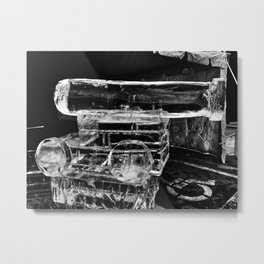 Ice Cannon at Icestravaganza, 2017 Metal Print