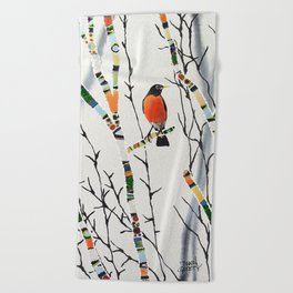 Songbird Beach Towel