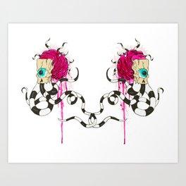"""Double Vision"" Art Print"