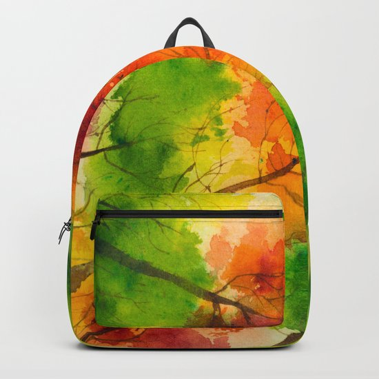 Autumn scenery #13 Backpack