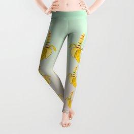 Gay Pride Banana Heart Leggings