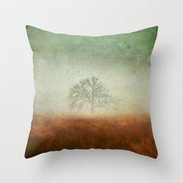 evolving mystery Throw Pillow