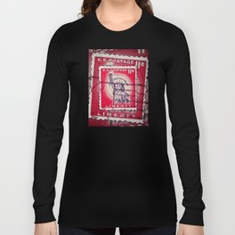 Stamp of Liberty Long Sleeve T-shirt