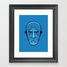 Mike from Breaking Bad Framed Art Print