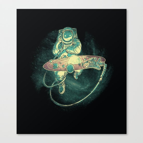 Scratch the Universe Canvas Print