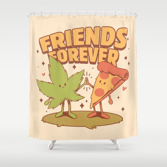 Cute Friends Shower Curtain