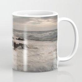 Sea foam on Bracelet Bay Coffee Mug