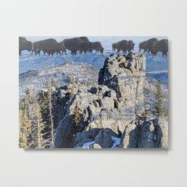 Pte Oyate at Blak Elks Peak Metal Print