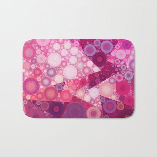 Pink Sherbet Bubbles Bath Mat