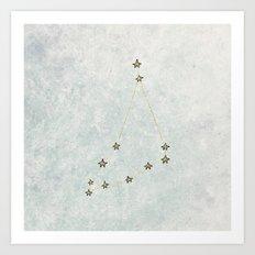 Capricorn x Astrology x Zodiac Art Print