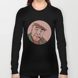 Pablo Neruda Long Sleeve T-shirt
