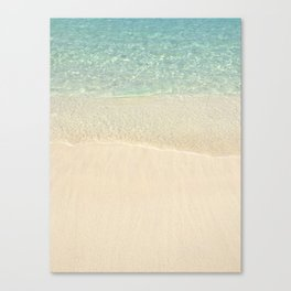 Beach Please! Canvas Print