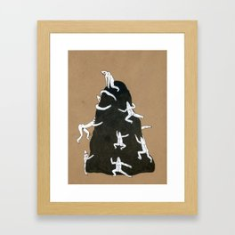 Collapsed Thoughts Framed Art Print