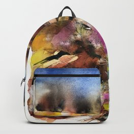Abstract Tuscan Landscape Backpack