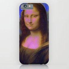 Mona Lisa's Haze (blue) Slim Case iPhone 6s