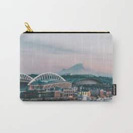 Seattle & Mount Rainier Carry-All Pouch