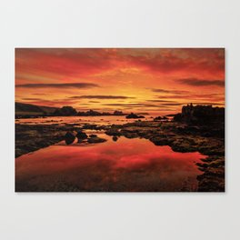 Evenings End Canvas Print