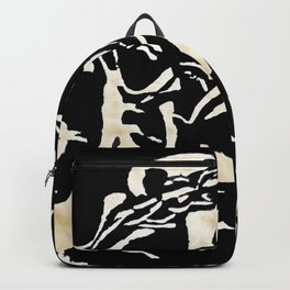 Lions Head of Gold Backpack