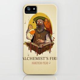 Alchemist's Fire Habanero Mead iPhone Case