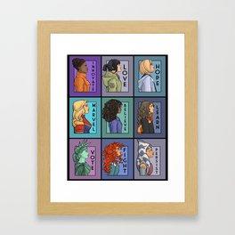 She Series - Version 2 Framed Art Print