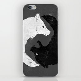 Feed the Wolves iPhone Skin