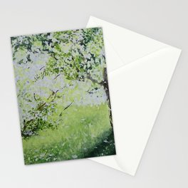 White Spring Stationery Cards