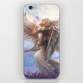 White Angel iPhone Skin