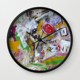 Drunk with Ouspensky Wall Clock