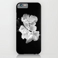 geranium in bw Slim Case iPhone 6