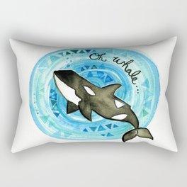 Oh Whale Rectangular Pillow