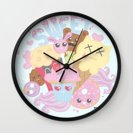 Monster Sweets Wall Clock