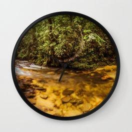 Forest Panorama Wall Clock