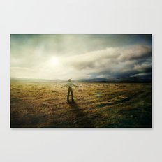 Acknowledging The Day Canvas Print