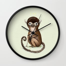 Squirrel Monkey Wall Clock